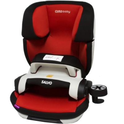 Scaun auto cu Isofix Salvo - Coto Baby - Rosu
