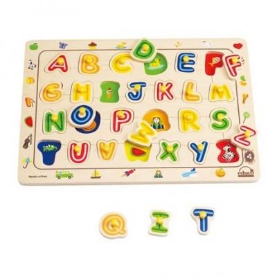 Potriveste literele - puzzle HAPE