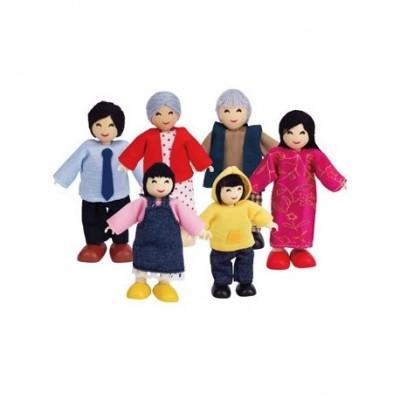 Familie de 6 membri Asia HAPE