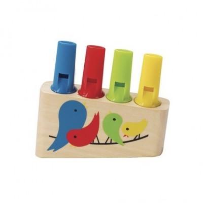 Flaut colorat - curcubeu HAPE