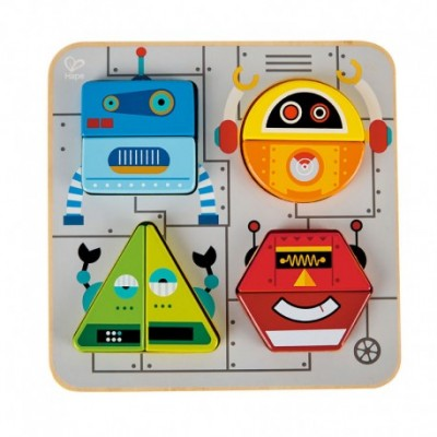 Puzzle Roboti HAPE