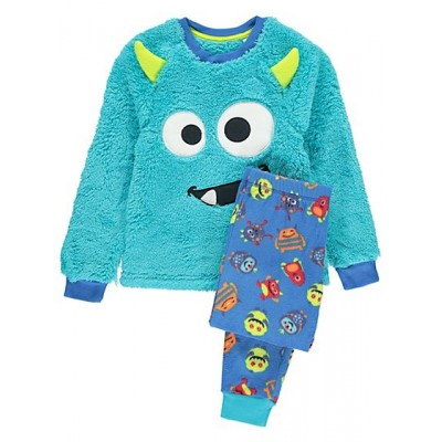 Pijama Pufoasa - Little Monster