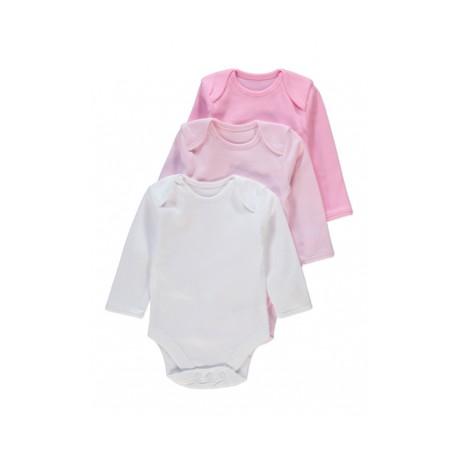 Set 3 Body Fetite - Basic maneca lunga