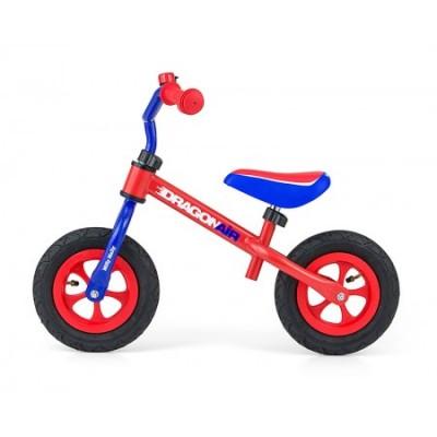 Bicicleta fara pedale Dragon Air Blue Red