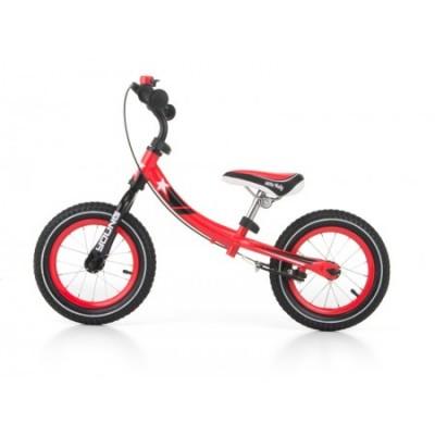 Bicicleta fara pedale Young Red cu frana