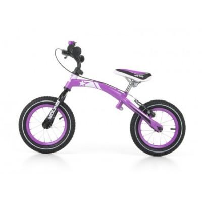 Bicicleta fara pedale Young Violet cu frana