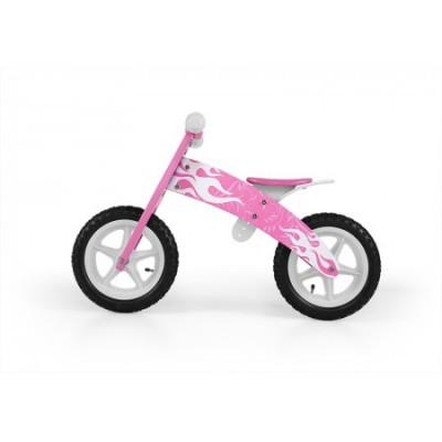 Bicicleta fara pedale Flip Pink