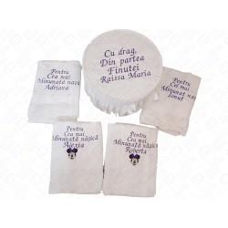 Prosop Personalizat - Botez - Cadou nasi - Cadou parinti