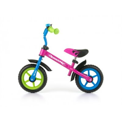 Bicicleta fara pedale Dragon Multicolor