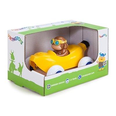 Pilot de curse Maimuta in Masinuta Banana - Cute Racer