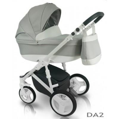 Carucior copii 3 in 1 Bexa D'Angela Light Grey