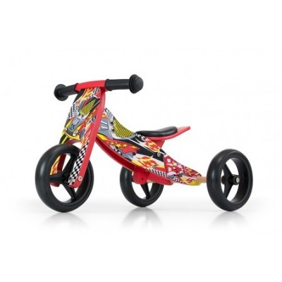 Bicicleta transformabila Jake Red cars