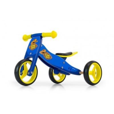 Bicicleta transformabila Jake Blue Cowboy
