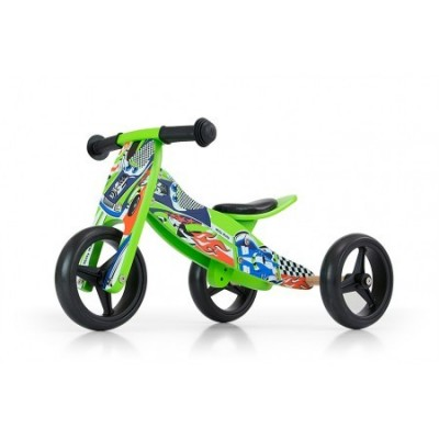 Bicicleta transformabila Jake Green Cars