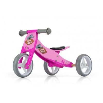 Bicicleta transformabila Jake Pink Cowgirl