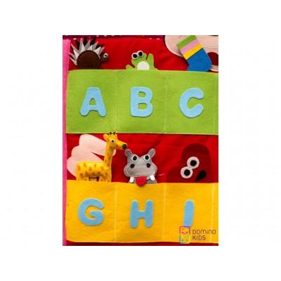 Flanelograf - Invatam alfabetul cu Mickey Mouse