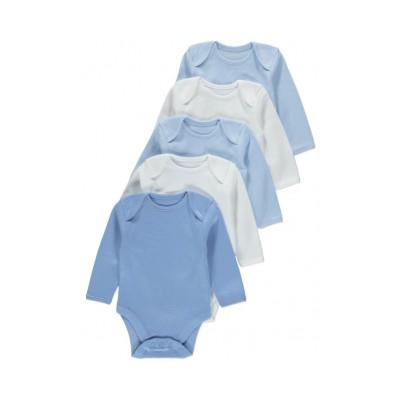Set 5 Body maneca lunga - nou nascuti