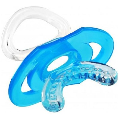 Dentitie in forma de suzeta - BabyOno - Albastru