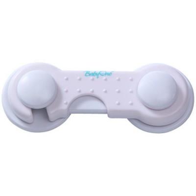 Set protectie pentru usi de dulap alb - BabyOno